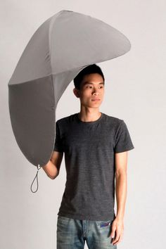 Rain Shield Umbrella #industrial design #umbrella #outdoors