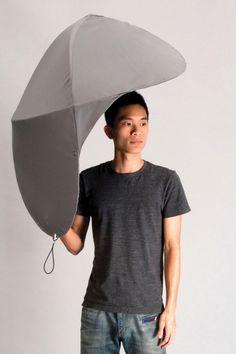 Rain Shield Umbrella #outdoors #industrial #umbrella #design