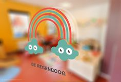 Identity Shezaf Kinderopvang (childcare) - The Ad Agency, www,theadagency.nl #theadagency #design #graphic #illustration #identity #logo #rainbow