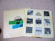Beatles at the Hollywood Bowl | Flickr - Photo Sharing! #packaging #beatles #art