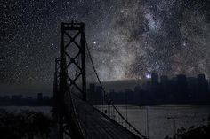 What Cities Would Look Like Without Any Lights Imgur #universe #city #dark #sky
