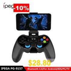 Ipega #PG-9078 #Wireless #Gamepad #Bluetooth #Game #Controller #Joystick #For #Android #Phones #Mini #Gamepad
