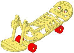 illustration jobs on Behance #red #yellow #daan #illustration #skull #botlek