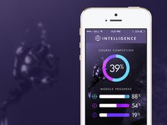 App screen 3 // Intelligence #logomark #branding #color #icons #texture #clean #iphone #brand #app #identity #logo #life
