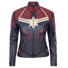 Carol Danvers Captain marvel leather jacket