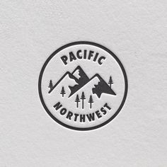 Pacific Northwest #logo design #inspiration