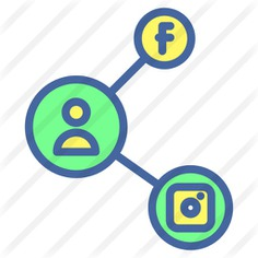 See more icon inspiration related to instagram, facebook, communications, user, share, social network, social media, profile and social on Flaticon.