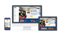 Branding and website design for FHP Ltd, an offshore hydraulic and subsea company.