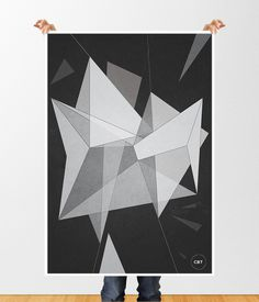 "abs14 #abstract #polygon #""illustration #design #graphic #""illustrator #pyramid‬ #poster #""geometric #""experimental #""art"