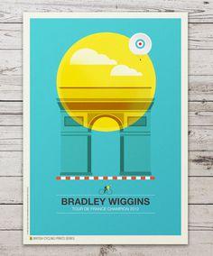 British Cycling Print Series