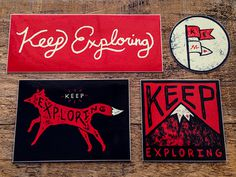 Keep Exploring Sticker Pack