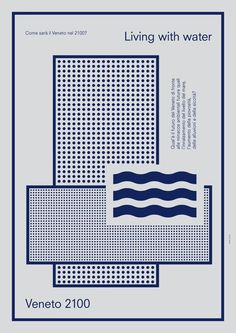 Acqua e Territorio by Studio Iknoki , via Behance #graphic design #poster