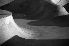tumblr_matydvh9sZ1rgenlio1_1280 #skatepark #cement #waves