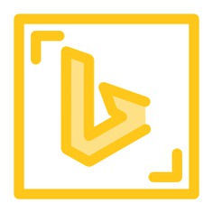 See more icon inspiration related to brands and logotypes, bing, logos, logotype, logo, social network and social media on Flaticon.