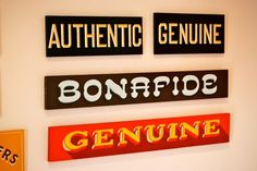 All sizes | Aaron Cruse | Flickr - Photo Sharing! #sign #type #painting #typography