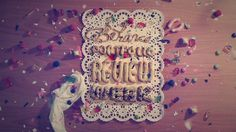 Behance Portfolio Review Week_Let's Bake Cookies on Typography Served #icing #lettering #typography #hand #party