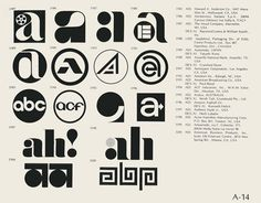 many marvelous moments seen all at once - Phenominal Flickr collection of logos from the... #logos #vintage #1970