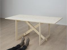 T-723-X1 Raw – con.temporary furniture #furniture #grain #table