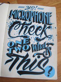 Sketchbook Lettering on Behance