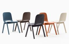 stacking touchwood chair by lars beller fjetland for discipline #chair