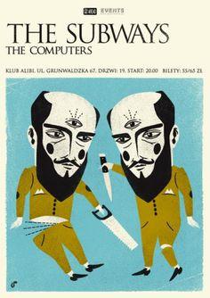 Posters   Talkseek - Dawid Ryski #talkseek #flayer #subways #eye #poster