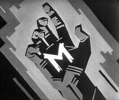 Fritz Lang «M» | M Eine Stadt sucht einen Mörder, filmstill #card #fritz #title #lang