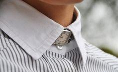 f | Latest #collar #bowtie #watch #fashion #neckwatch