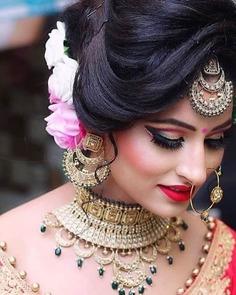 Amoric Pinkish bridal lip makeup
