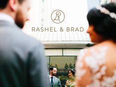#monogram #wedding #typography #lettering