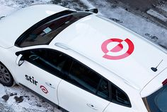 Stir by Bielke+Yang #brand design #logo #car
