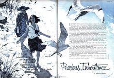 Howard Terpning #illustration #vintage