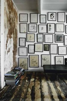 The Black Workshop #interior design #decoration #deco