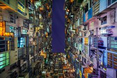 the stacked urban architecture of hong kong by peter stewart #hk