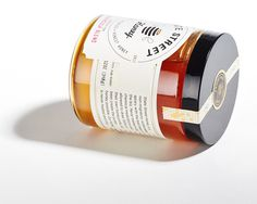 State Street Honey Package Design by Jess Glebe Design #honey #packaging #identity #logo #bees #apiary