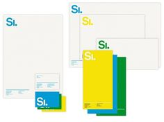 Identity | Stockholm Designlab #stationary #branding #head #letter #logo