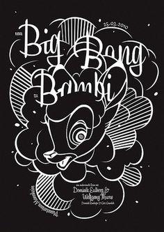 Baubauhaus. #bambi #design #graphic #poster #gramlich #gtz