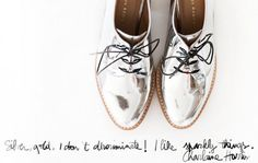Elements of Style/Jessica #silver #oxfords