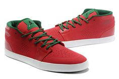 "Jordan Sneakers AJ V.1 Chukka ""Christmas"" Inspired Colorways Gym Red/Black/Gorge Green/White Men Size #shoes"
