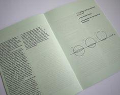 Matt Jones. #design #helvetica #book #booklet #futura #flatland #adwin abbot