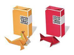 Compagnie de Provence Soap #soap #origami