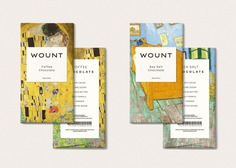 Wount Chocolate - Mindsparkle Mag Artboard Studio & Mockup Zone designed the packaging for Wount Chocolate. This project consists on the packaging and mockup design concept for a chocolate brand. #logo #packaging #identity #branding #design #color #photography #graphic #design #gallery #blog #project #mindsparkle #mag #beautiful #portfolio #designer