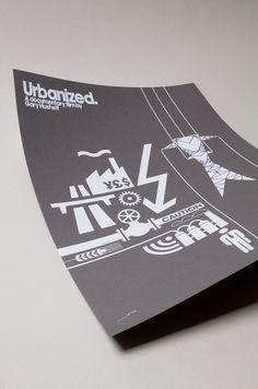 Actu / Quatre affiches pour le documentaire de Gary Hustwit | etapes.com #documentary #hustwit #print #urbanized #gary