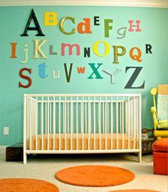 Cute Nursery Decorating Ideas #nursery #decorating #ideas