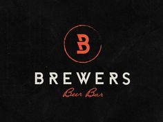 Brewers Beer BarLogo #logo