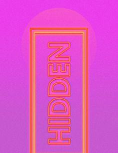 Neon Type - Jacque Lombardo