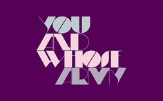 Looks like good Typography by POGO #typography