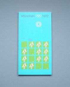 Otl Aicher 1972 Munich Olympics - Regulations #otl #olympics #aicher
