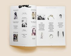 ONE Magazine - Issue No. 3 #fashion #print #magazine