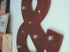 The Sheltered Half #bulbs #red #lights #living #home #ampersand