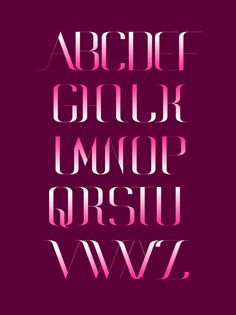 GIORGIORO TYPEFACE on Behance #typeface